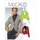 McCalls Pattern 5527 Sizes (6,8,10,12) Misses' Lined Jackets