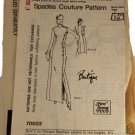 Spadea 70503 Mail Order Sewing Pattern Misses Designer Dress Size C 14