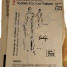 Spadea 70503 Mail Order Sewing Pattern Misses Designer Dress Size C 14