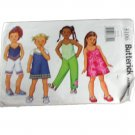 Butterick 3106 Children/Girls Dress,Top,Shorts & Pants - Sizes 6-7-8