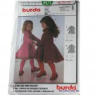 Burda 9971 Sewing Pattern Toddler Dress Size 18M,2,3,4,5,6