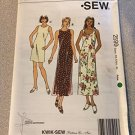 Kwik Sew 2599 Sewing Pattern, Misses' Dresses, Size XS-S-M-L-XL