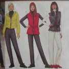 Butterick 6773 Ladies Easy Jacket, Vest, Pant, Headband Designed for Fleece - Sizes 18-20-22