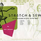 Stretch & Sew Pattern 1300 ~ Ladies' One Piece Swim Suit ~ Size 20-22
