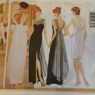 butterick 5302 evening dress size 6,8,10