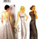 Butterick 6822 Sewing Pattern Misses Sleeveless Evening Dress Size 6-8-10