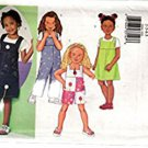 Butterick 3044 Sewing Pattern Children's Jumper and Jumpsuit Size 6-7-8