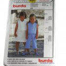Burda 9985 Sewing Pattern Girls Top, Skirt & Crop Pants Size 2,3,4,5,6,7,8