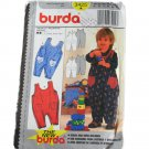 Burda 3425 Sewing Pattern Toddler Overalls Size 3M,6M,9M,12M,18M,2