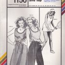 Stretch & Sew Pattern 1150 ~ Tank Dress and Top ~ Bust 28-44 .