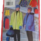 Butterick Sewing Pattern 5858 Girls Jacket, Vest, Skirt & Pants Sz 7,8,10