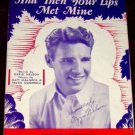 And Then Your lips Met Mine, Ozzie Nelson 1930
