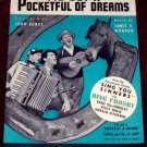 I've Got a Pocketful of Dreams, Bing Crosby 1938