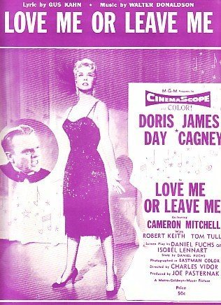 Love Me or Leave Me, Doris Day 1950