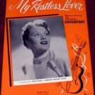 My Restless Lover, Patti Page 1954