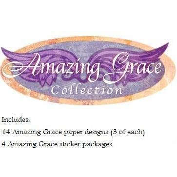 Amazing Grace - 46pc. Christian Paper Collection