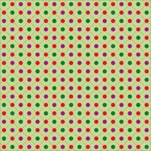 Holiday Stroll - Holi-dots - by Moxxie