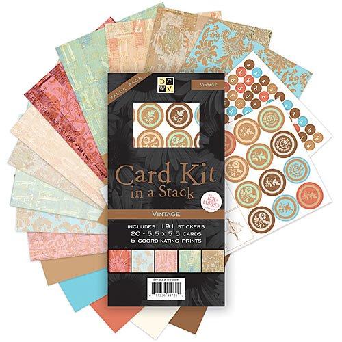 Vintage Card Kit