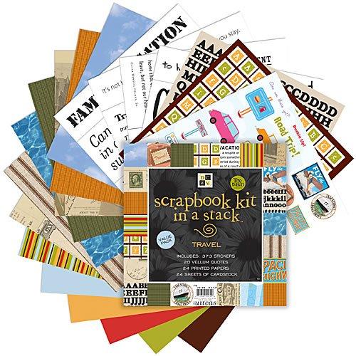 12x12 Scrapbook Kit - Travel