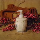 SOLD SOLD...Dragonfly Pump filled with Honeysuckle Hand Lotion