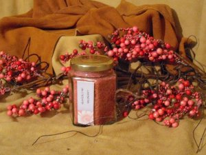 SOLD SOLD...Mulberry Flake Candle