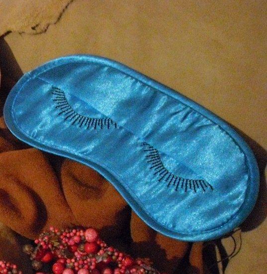 Blue Eyelashes Eye Mask