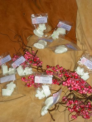 SOLD OUT ~   Rosemary Mint With Lavender Bath Fizzies ~ SOLD OUT