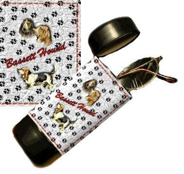 Bassett Hound Eyeglass Or Sunglass Case