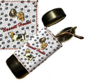 Bassett Hound Eyeglass Or Sunglass Case