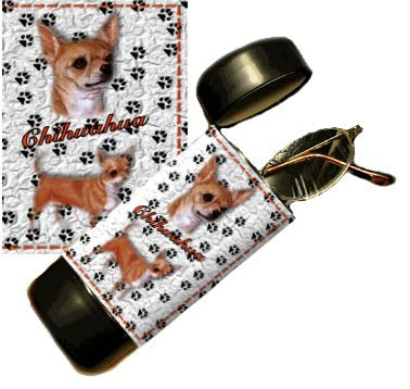 Chihuahua Eyeglass Or Sunglass Case