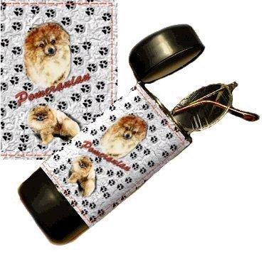 Pomeranian Eyeglass Or Sunglass Case