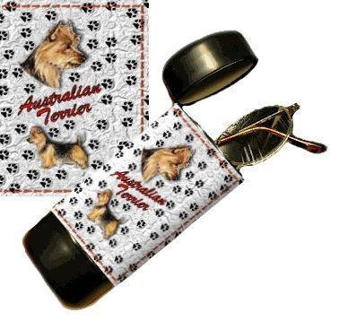 Autralian Terrier Eyeglass Or Sunglass Case