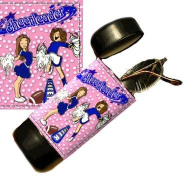 Cheerleader Flip Top Eyeglass / Sunglass Case