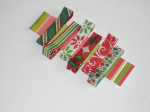 Peppermint Christmas Baby Clips