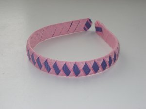 Purple Princess Ribbon Headband