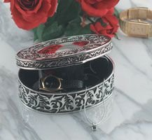 Silver Plated Jewelry Box (001-3)