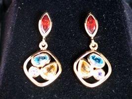 Multi-color Earrings (020-4)