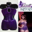 *Custom Order* Crochet BoyShorts and Bandeau Top w/ Keyhole