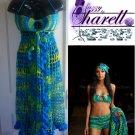 "*Custom Order* Crochet ""Tropical Beauty"" Beach Set"
