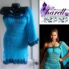 """*Custom Order* Crochet One Sleeve """"Diva"""" Cover up"""