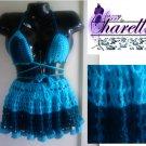 *Custom Order* Crochet Bikini Set w/ Cute Cover Up Skirt