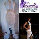 *Custom Order* Crochet Pool Party Salsa Dress