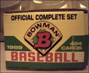 1989 Bowman Complete Set