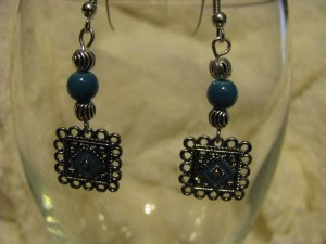 Turquoise Earrings Dangles