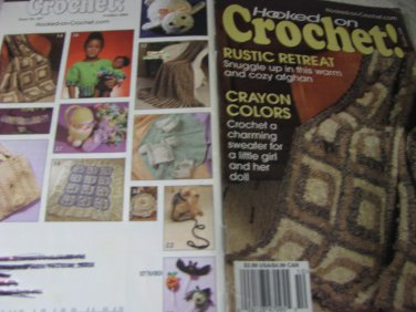 Hooked on Crochet October 2004 Magazine Issue # 107