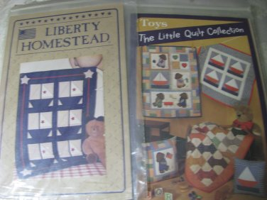 Little Quilt Collection & Liberty Homestead Quilting Patterns
