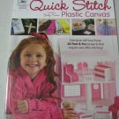 Quick Stitch  Plastic Canvas Pattern Books  30 projects fast and fun