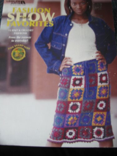Fashion Show Favorites  Crochet/ Knit Pattern Book