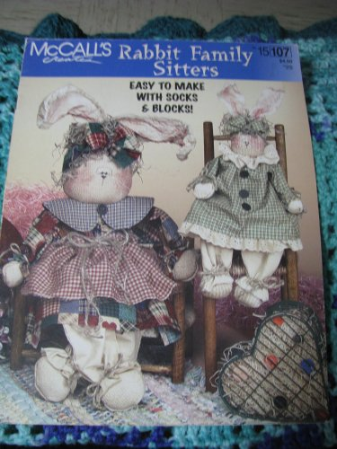 McCall's Rabbit Family Sitters Pattern Book