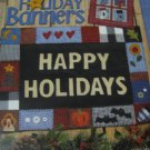 Fall & Winter Holiday Banners  Pattern Book